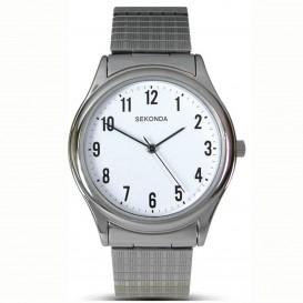 Sekonda Horloge 3751 Heren Staal SEK.3751 Herenhorloge 1