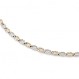 Boccia 0847-02 Verguld titanium collier