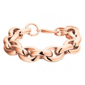 Armband Staal rosékleurig 18-21 cm 65.04303