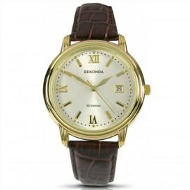 Sekonda Horloge 3779 Heren Leer Datum SEK.3779 Herenhorloge 1