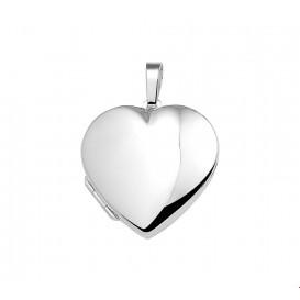 Medaillon Hart Zilver Glanzend 28,5 mm x 29,0 mm