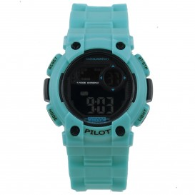 Coolwatch 275 Kids Horloge Pilot L.blauw Digitaal CW.275 Kinderhorloge 1