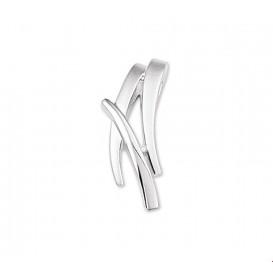 TFT Hanger Zilver Diamant 0.007 Ct. Poli/mat 21 x 9,5 mm
