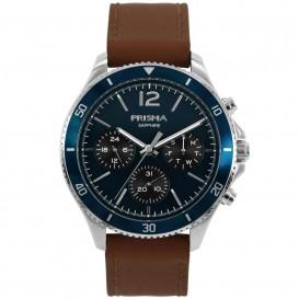Prisma Horloge P.1322 Heren Multi-Functie Saffierglas 5 ATM P.1322 Herenhorloge 1