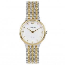 Prisma Horloge P.1276 Dames Solid Titanium Saffierglas P.1276 Dameshorloge 1