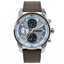 Prisma horloge P.1593 heren multifunctie edelstaal 10 ATM P.1593 Herenhorloge 1
