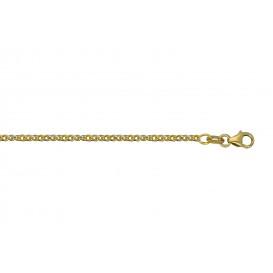 Glow Gouden Schakelarmband 19 cm fantasie 1.9 mm breed 204.5015.19