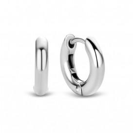 TI SENTO - Milano 7210SI zilveren Oorbellen 14 mm