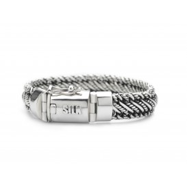 Silk Jewellery 734-21 Armband zilver lengte 21 cm