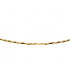 TFT Collier Geelgoud Omega Rond 1,25 mm