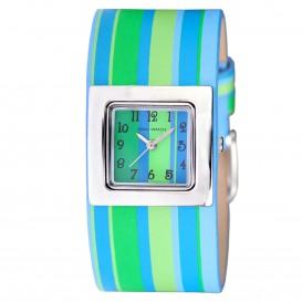 Coolwatch Kinderhorloge CW.115 Blauw groene strepen