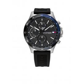 Tommy Hilfiger TH1791724 Horloge Siliconen Zwart Heren 1