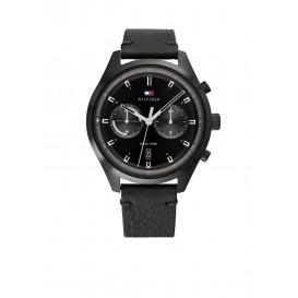 Tommy Hilfiger TH1791731 Horloge Leer Zwart Heren 1