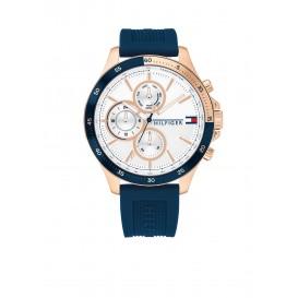 Tommy Hilfiger TH1791778 Horloge Siliconen Blauw Heren 1