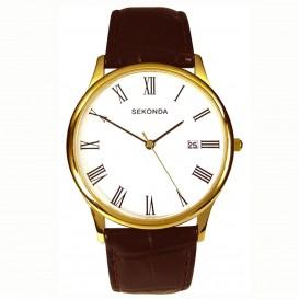 Sekonda Horloge 3676 Heren Leer Datum SEK.3676 Herenhorloge 1