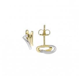 Glow Gouden Oorknoppen - Diamant 0.03ct. Gh/si3  206.5201.00