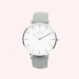 KRAEK Rosella | Silver | Grey 36 mm Dameshorloge