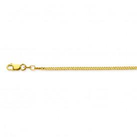 Glow Gouden Lengtecollier - Gourmet 1.7 Mm 42 Cm  201.0542.41