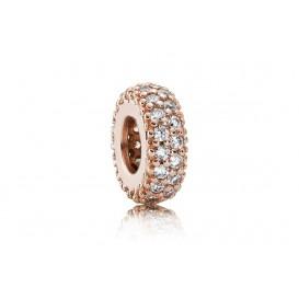Pandora Rose bedel spacer zilver-rosékleurig 781359CZ