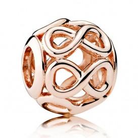 Pandora Rose 781872 Bedel zilver rosékleurig Infinity