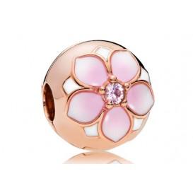 Pandora Clip-Stopper Bedel rosékleurig Magnolia Bloom 782078NBP