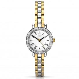 Sekonda Horloge 2149 Dames Bicolor Strass SEK.2149 Dameshorloge 1