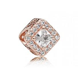 Pandora Rose Bedel zilver-rosékleurig Cubic Zirconia 786206CZ