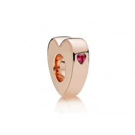 Pandora Rose bedel spacer zilver-rosékleurig You and Me 786559CZR