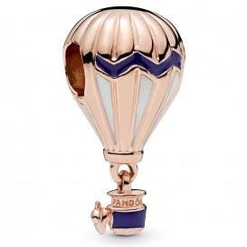 Pandora 788055ENMX rose Heteluchtballon met blauw emaille