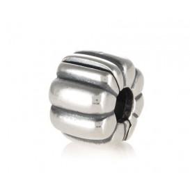Pandora bedel Clip-stopper zilver 'Ribbels' 790163