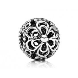 Pandora opengewerkte Bedel zilver 'Bloemen' 790965