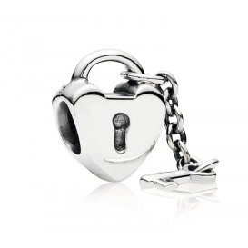 Pandora Bedel zilver 'Sleutel tot je Hart' 790971