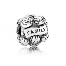 Pandora Bedel zilver 'Familie' 791039