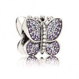 Pandora Bedel zilver 'Sprankelende Vlinder' 791257ACZ