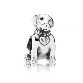 Pandora bedel zilver 'Labrador' 791379CZ