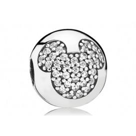Pandora Disney Clip-Stopper bedel zilver Mickey 791449CZ