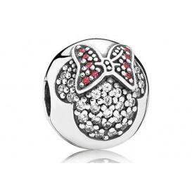 Pandora Disney Clip-Stopper bedel zilver Minnie 791450CZ