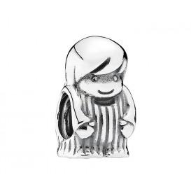 Pandora bedel zilver 'Kleine jongen' 791530