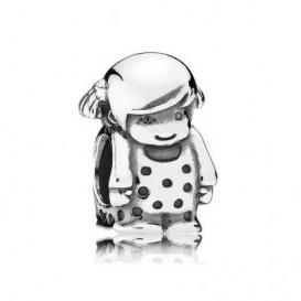 Pandora bedel zilver ´Klein meisje´ 791531