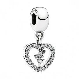 Pandora Disney Hangbedel zilver Tinker Bell 791565CZ