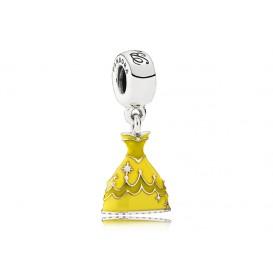 Pandora Disney Hangbedel zilver Belle's Jurk 791576ENMX