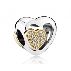 Pandora Zilver bedel Joined Together 791806CZ