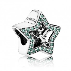 Pandora Disney Bedel zilver Tinker Bell Ster 791920NPG