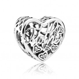Pandora Bedel zilver Mother and Son 792109CZ
