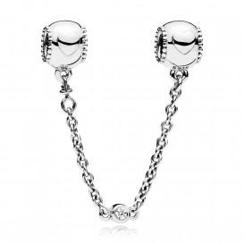 Pandora Veiligheidsketting zilver Hearts 796457CZ-05
