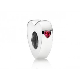 Pandora Bedel Spacer zilver You and Me 796559CZR