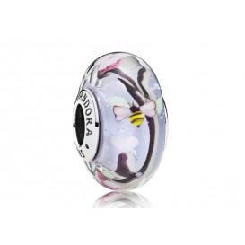 Pandora bedel zilver-muranoglas Enchanted Garden 797014