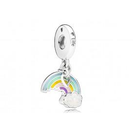 Pandora Hangbedel zilver Rainbow of Love 797016ENMX