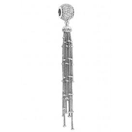 Pandora Hangbedel zilver Enchanted Tassel 797018CZ