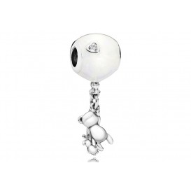 Pandora Hangbedel zilver Teddy and Balloon 797034EN23